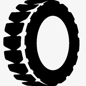 A Graphical Illustration of a Vehicle Tyre