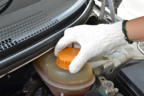 An Image of an Engine Coolant Reservoir