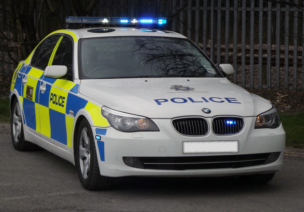 Image of a British Police Vehicle