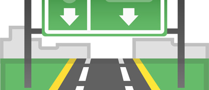 Graphical Illustration of a SMART Motorway